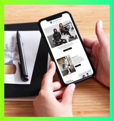 Morotai Website Mobile Ansicht