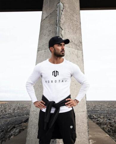 Morotai Sweatshirt in weiß