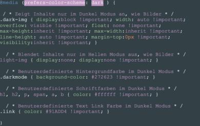 CSS Beispiel