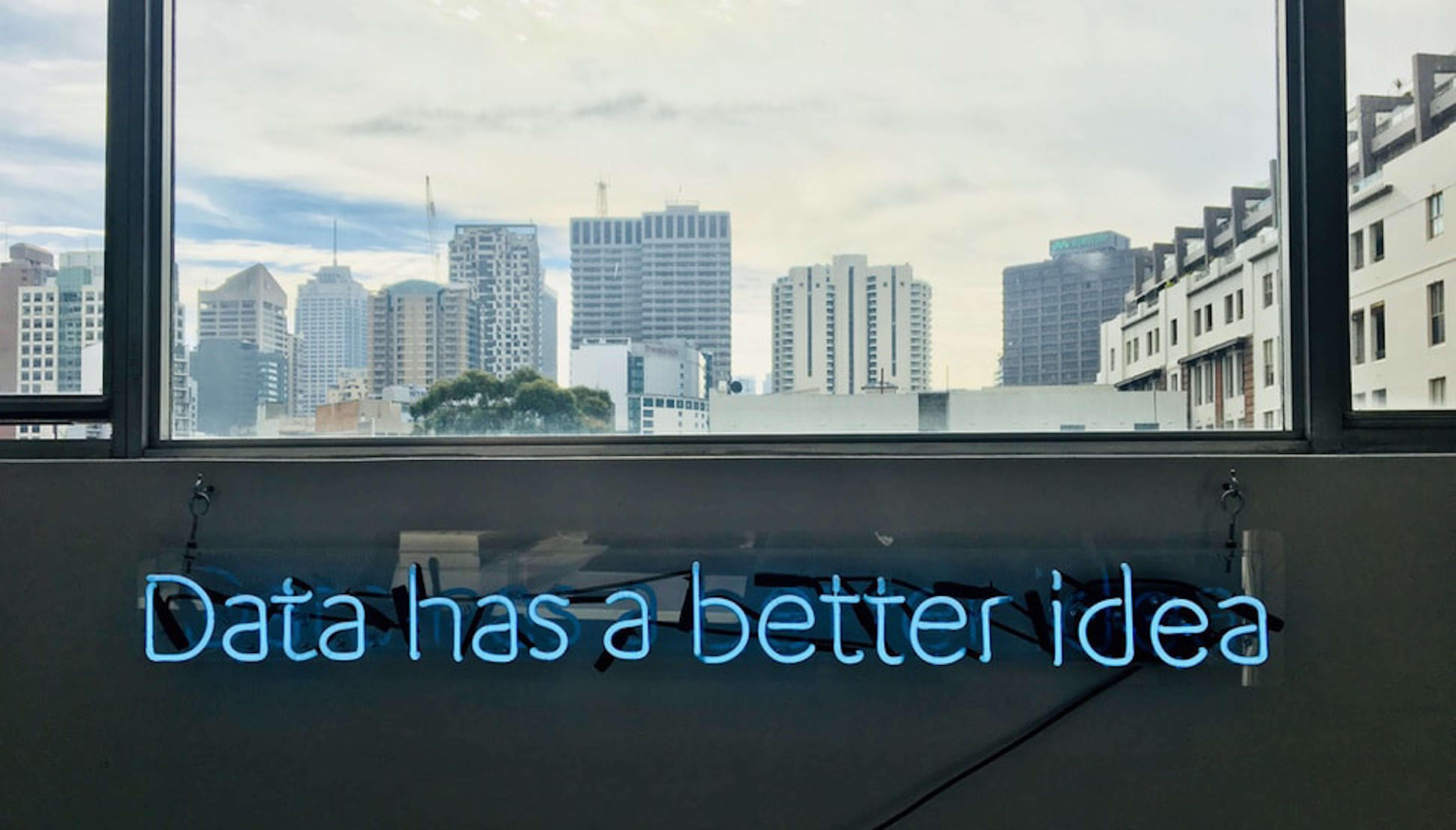 """""""Data has a better idea"""" Logo"""