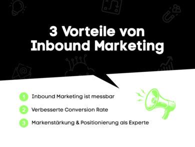 Vorteile Inbound Marketing