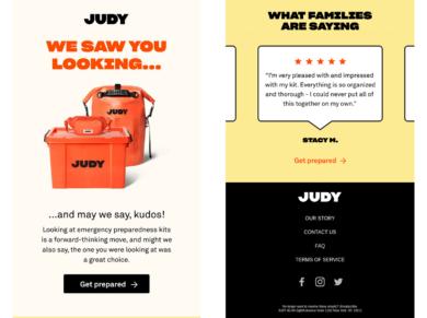 Judy Newsletter