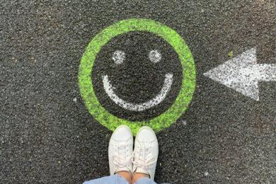 Inbound Marketing Grüner Smiley