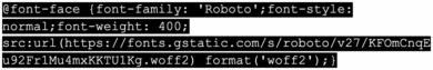 @Font-Face Methode