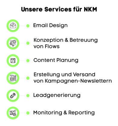 Unsere Services für NKM