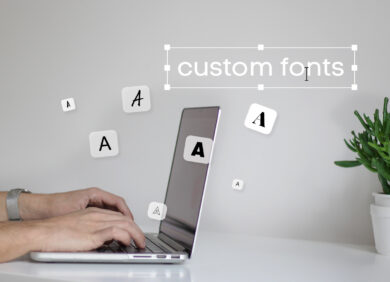 Custom Fonts Header