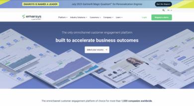 Emarsys Website