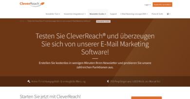CleverReach Website